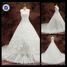 WA00077 wholesales elegant lace sweetheart dispersive diamond wedding dress 2014