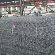 Malla de alambre galvanizada eléctrica de la caja de Gabion / jaulas de piedra