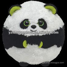 Gefüllte Tier Spielzeug niedlichen Panda Plüschtier Ball Spielzeug
