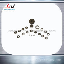 strong magnetic force Permanent Sintered alnico ring magnet