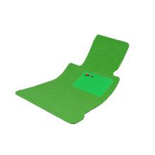 Car Mat Flat Foot Loop Pile PP Fiber Carpet Green