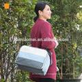 2017 new fashion baby diaper bag long shoulder strap multi-function waterproof diaper bag mummy