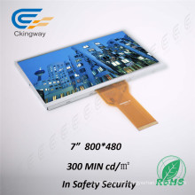 """7 """"RGB Interface 800 * 480 Touch TFT Display"""