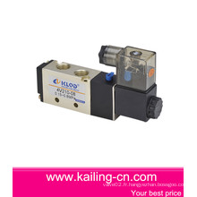 Electrovanne 4v / Electrovanne pneumatique à deux positions à cinq positions / alliage d'aluminium