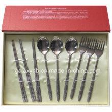 Venda quente titânio utensílios de mesa fabricados na China