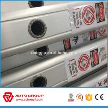 Échelle en aluminium simple de 6 m, escalier en aluminium, échelle tactique