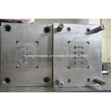 Modelagem por injecção plástica personalizada do baixo preço da base de molde P20
