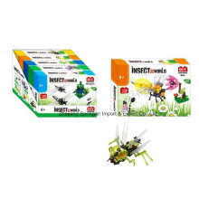 Boutique Block Block Toy pour DIY Insect World-Bee