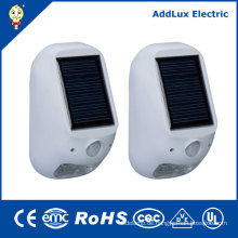 Warme weiße Solarbetriebene Lampe im Freien 1W SMD LED
