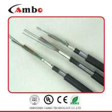 Buried/Duct/Aerial Application mettalic tape armoured multi pairs SM/MM two types of fiber optic cables