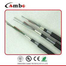 Buried / Duct / Aerial Application fita metálica multi pares blindados SM / MM dois tipos de cabos de fibra óptica