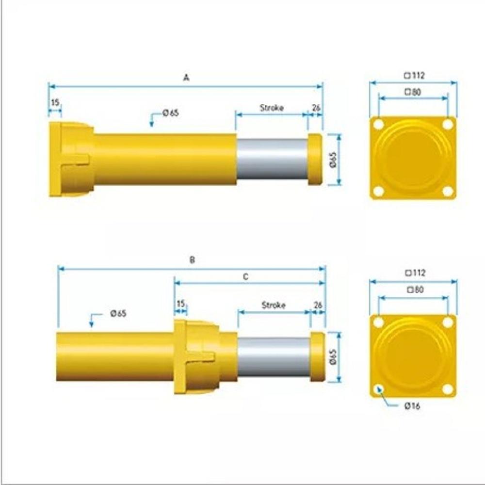 Hydraulic Buffer-LT CRANE