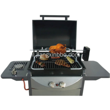 Universele BBQ Grill Top Rotisserie Spit