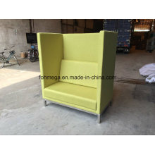 Leisure Style Customized Restaurant Booths in Green (FOH-HRB1)