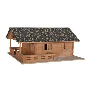 China OEM for Dollhouse Miniature Building 1/12 scale Lake house in wooden export to India Factories