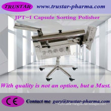 automatic hard capsule capsule medicine polishing with rejector