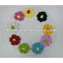 Вязаный цветок, сделанный в Китае