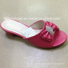 Nouveau Style Bonne Qualité Mode Femmes Chaussures PU Sandales (JH160523-2)