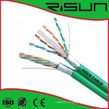 Cable LAN de alta calidad y mejor precio 23AWG FTP CAT6