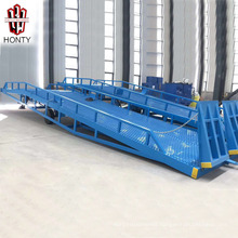 Mobile adjustable loading dock yard ramp for sale