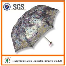 Geschenk Hangzhou Fashion Lace UV-Schutz Sonnen Sonnenschirm Regenschirm Yiwu