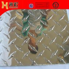 Aluminium Checker Sheet für Firetruck Bed