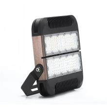 Luz de inundación LED sin conductor modular de 80W