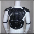 Motorcycle riding jacket chest protector armor under armor
