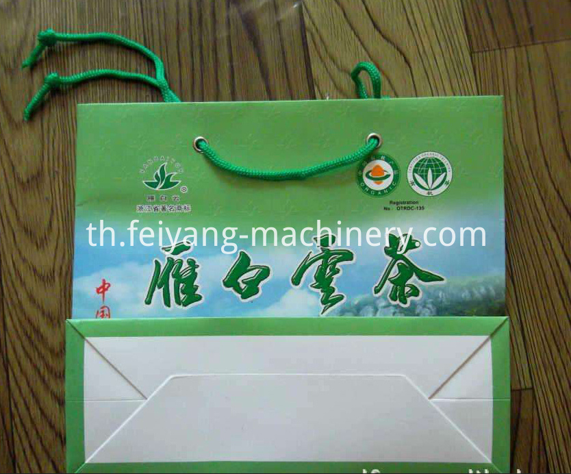 eyelet machine for luxury paper bag