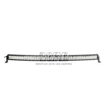 2017 DC 12-24V Nueva venta caliente de alta calidad 288W impermeable 68 LED 6000K Curva barra de luz
