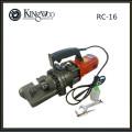 Cortador de barra de acero manual / Cortador de barra de refuerzo eléctrico hidráulico portátil RC-16