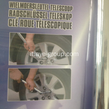Adjustable Car Wheer Master chiave L