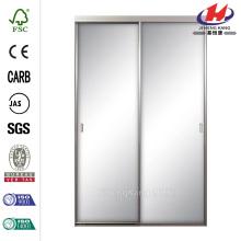Mirror Framed Interior Closet Aluminum Sliding Door
