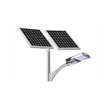 Iluminación al aire libre de la luz solar 100W del poste de la lámpara del panel de la calle del sistema de iluminación de la energía solar al aire libre