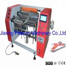 Proveedor de China Semiautomático Aluminio Foil Rewinding Machinery