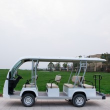 Good Quality for Gas Shuttle Bus Golf hotel airport sightseeing electric shuttle bus export to Chile Manufacturers
