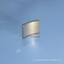 High Quality Arc NdFeB Neodymium Permanent Magnet ISO9001/14001