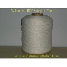 Hilado de alfombra de nylon 66 BCF 1560Dtex / 84F