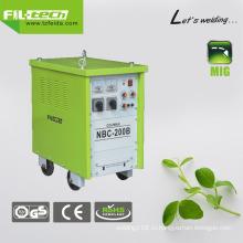 Газ / без газа Преобразователь переменного тока MIG для широкого использования (NBC-200B / 250B / 270B / 350B)