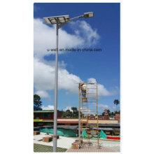 Réverbère solaire de 30W LED avec l'induction infrarouge