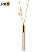 Edelstahl-Schmucksache-Halsketten-Art- und Weiseschmucksachen