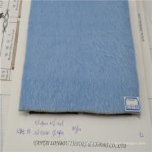 tela de la mezcla de la alpaca de las lanas de la tela del abrigo de invierno del color de la venta caliente sensación suave de la mano