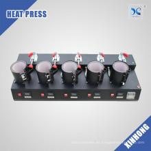 Xinhong venta caliente 11oz MP150x5 5 en 1 máquina de la prensa de la taza