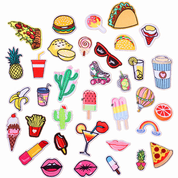 Fruit Embroidery Patch