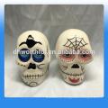Sal de cerâmica e pimenta Shaker, 1,77 polegadas, Dia De Los Muertos