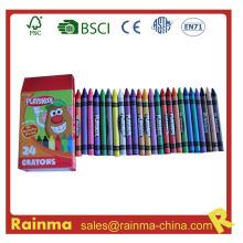Lápiz de colores grande para papelería de la escuela