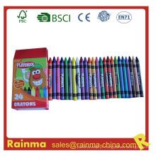 Crayon de cor grande para artigos de papelaria da escola