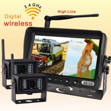 School Bus Rearview Camera System with Cigarette Lighter Adaptor