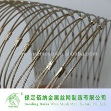2014 Hot Sale Spring Light Weight Stainless Steel Wire Rope Mesh