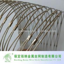 Высококачественная ручная нержавеющая сталь Проволочная сетка Китай Производитель